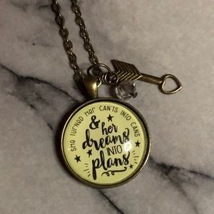 Jewelry - Inspirational pendant necklace
